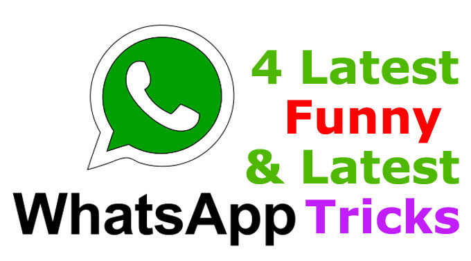 5 Very Funny Whatsapp Trick In Hindi – 2018 New Tricks