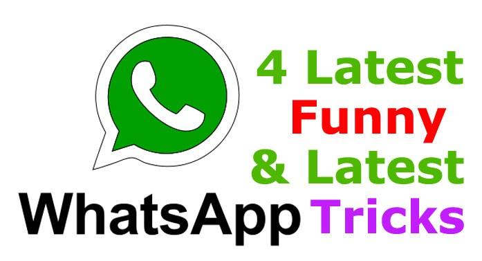 4 Funny whatsapp tricks