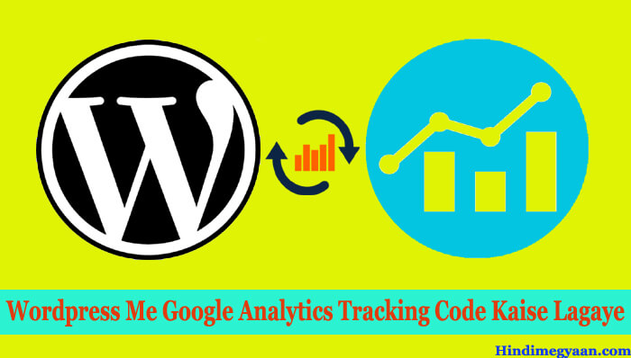 wordpress me analytics kaise add kare