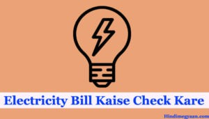 Electricity bill check and pay online