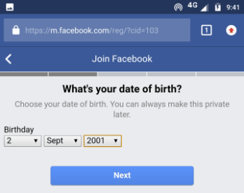 date of birth daale