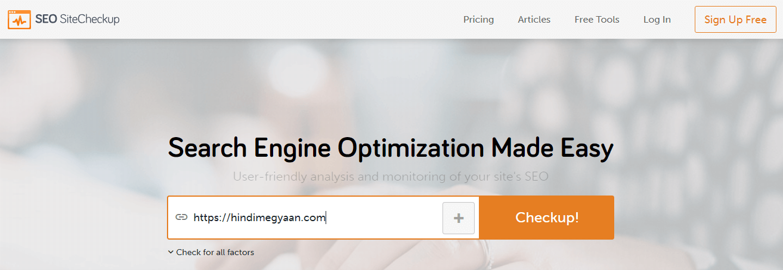 SEO Site Check-up
