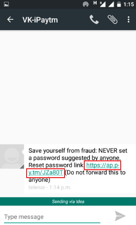 paytm password bhool jaane par kya kare