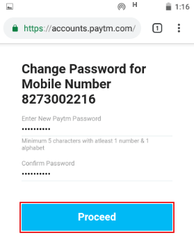 paytm password bhool gaya
